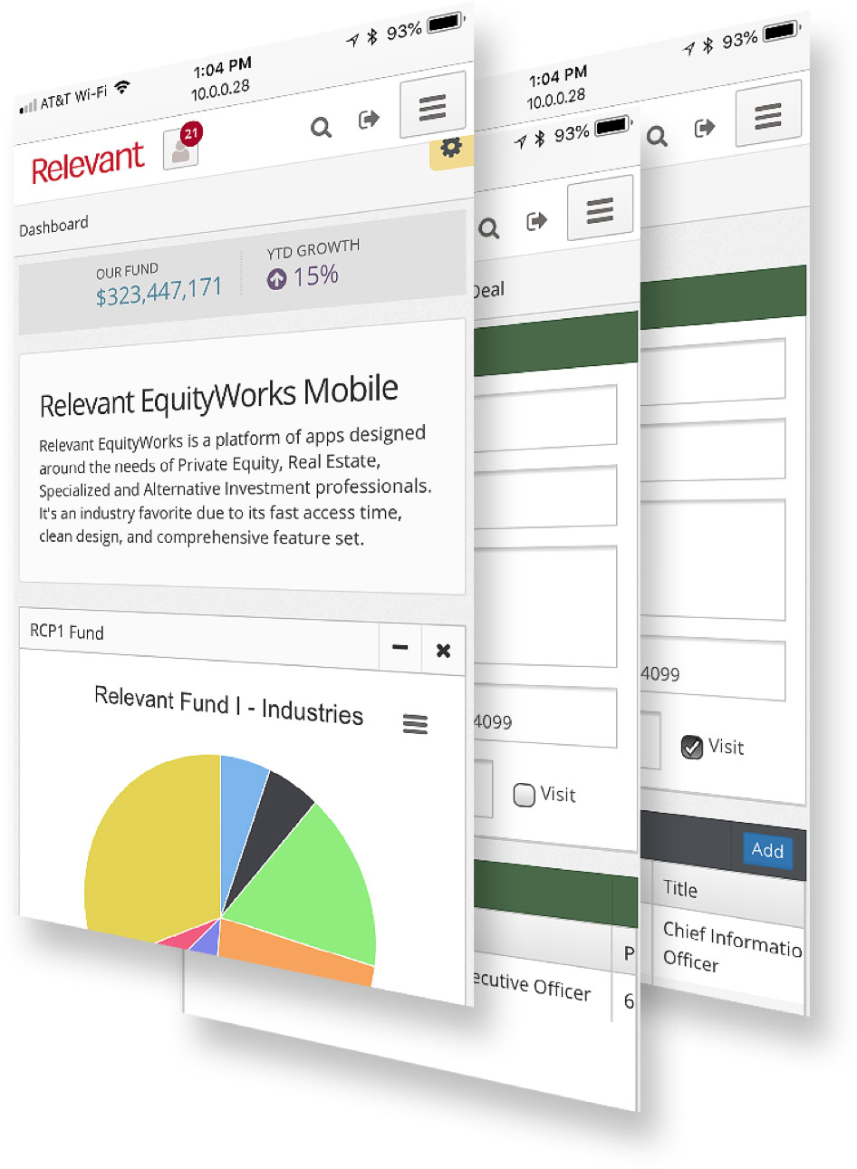 Relevant EquityWorks - Fund Raising & Investor Relations Software